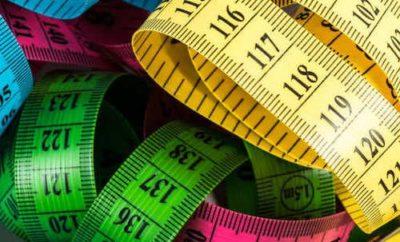 Konfektionsgrößen und Maße