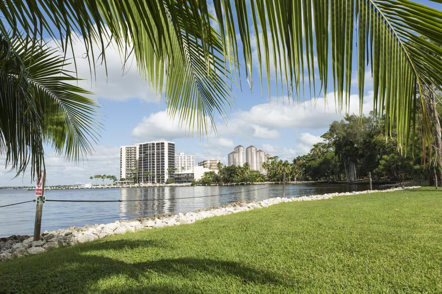 Cape Coral Florida Blick auf die Stadt