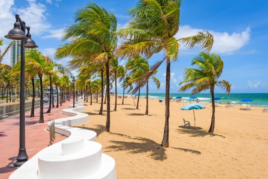 Fort Lauderdale Las Olas Beach