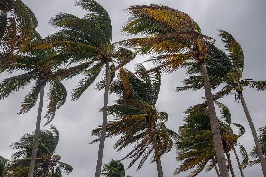 Hurrikan vor Florida