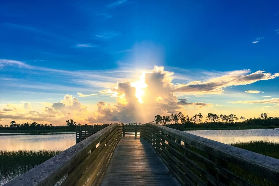 Nationalparks in Florida Everglades Nationalpark Urlaub in Florida