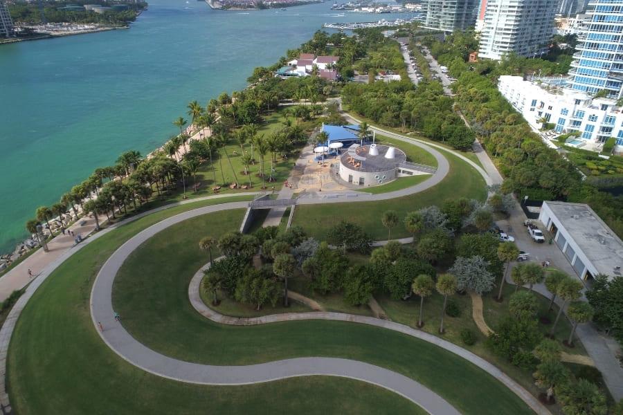 South Pointe Park in Miami Florida