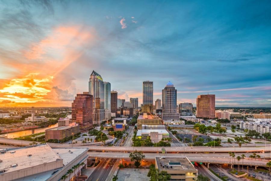 Tampa Florida Skyline