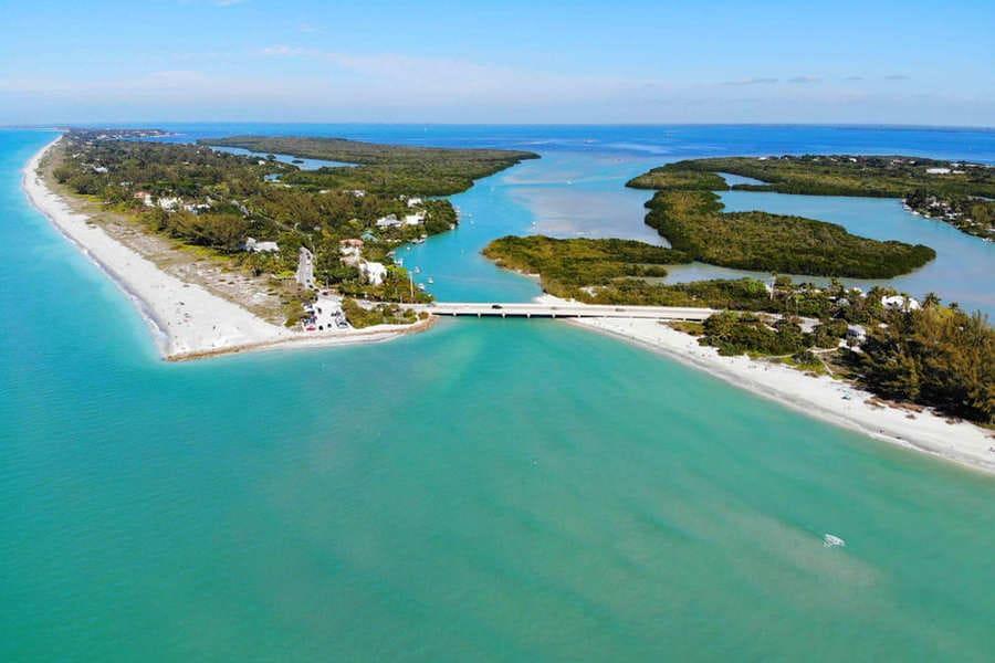 Captiva Island Sanibel Island Brücke Florida