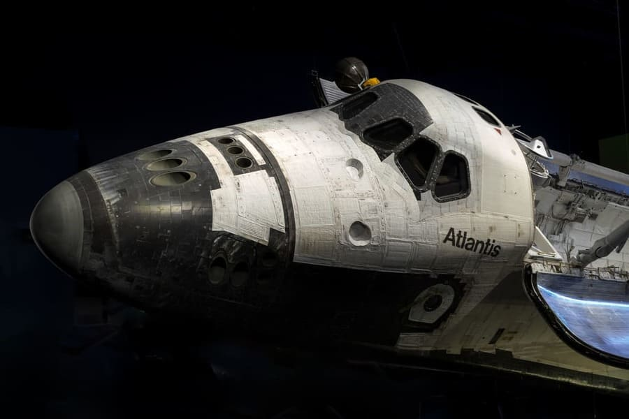 Kennedy Space Center in Cape Canaveral Florida Atlantis