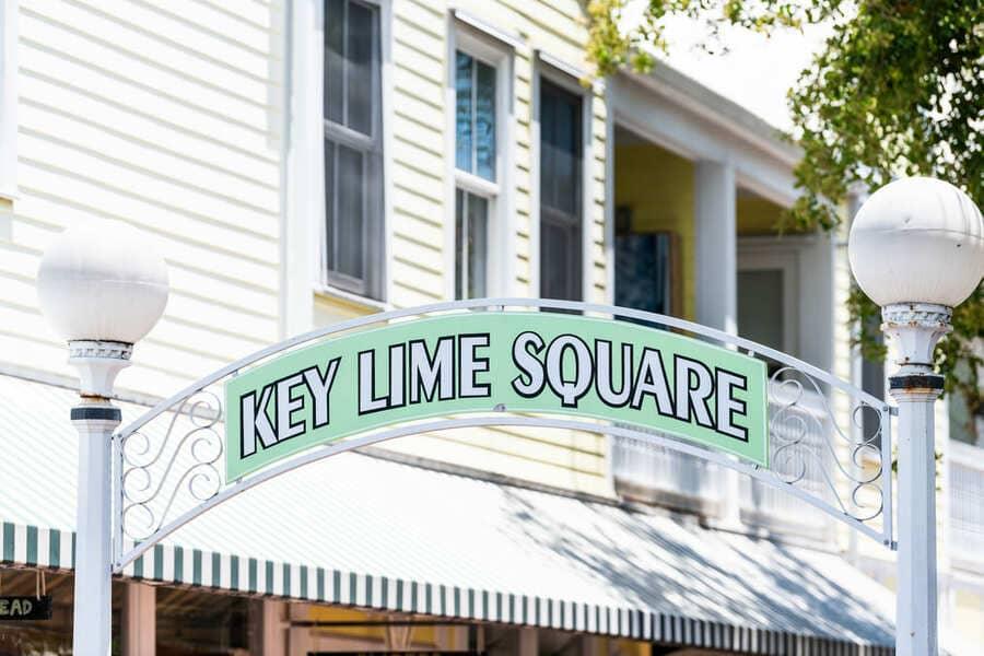 Key West Florida Key Lime Square