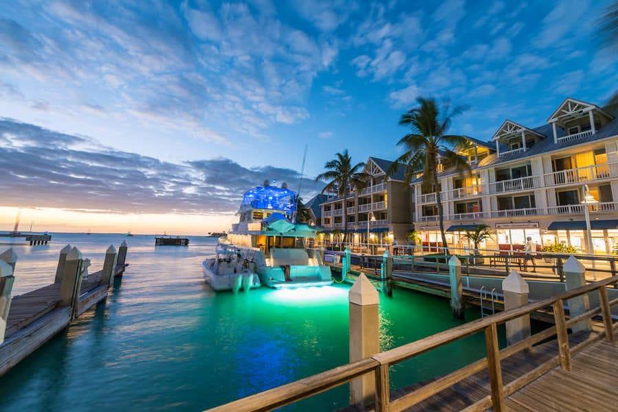 Key West Florida Hafen