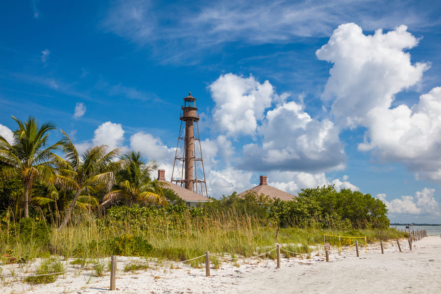 Lighthouse Beach Sanibel Island Florida
