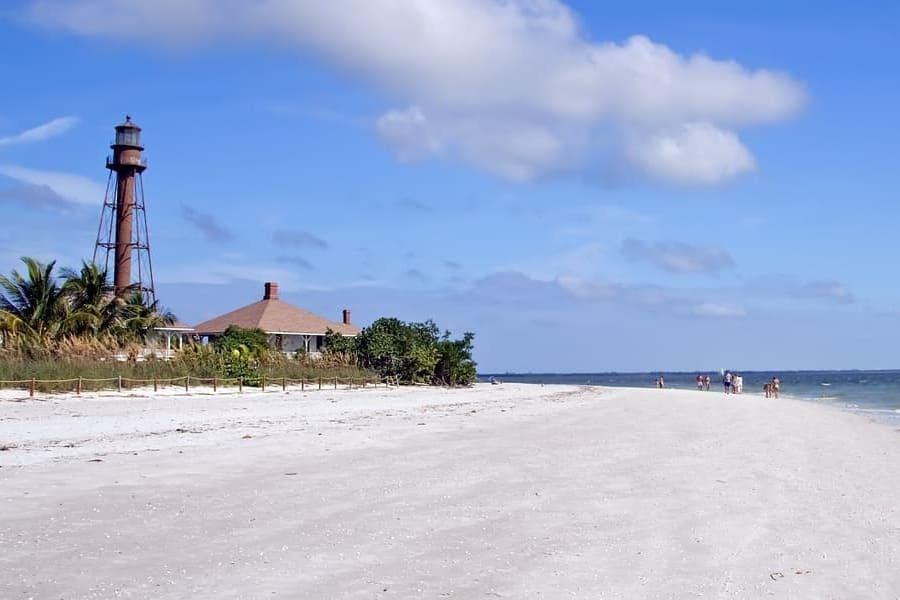 Lighthouse Beach Sanibel Island Florida