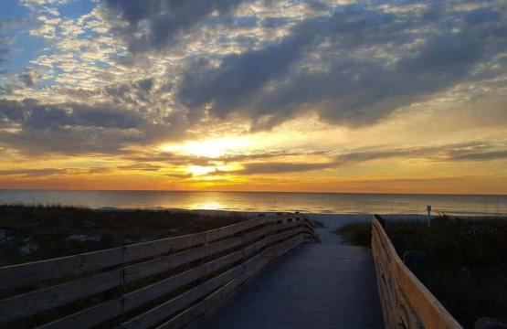 North Jetty Beach in Venice Florida
