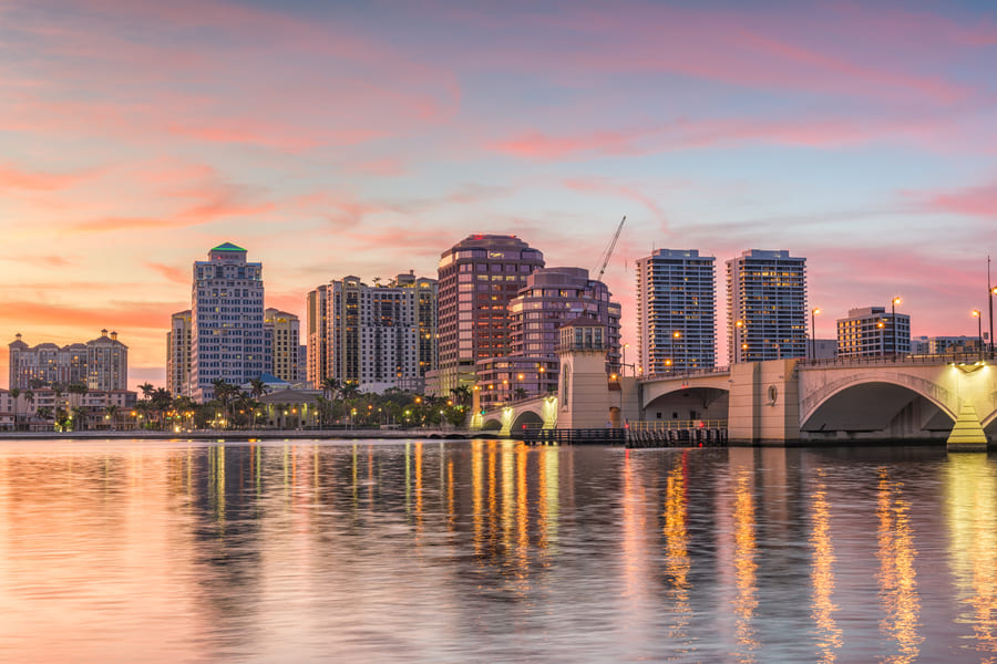 Palm Beach Florida Skyline