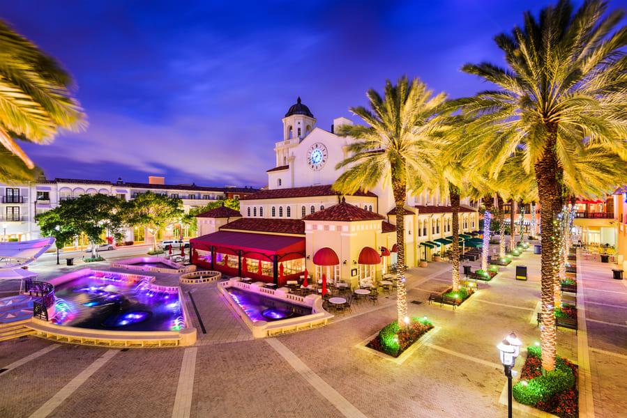 Palm Beach Florida Marktplatz