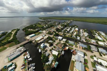 Pine Island Florida Blick auf Matlacha