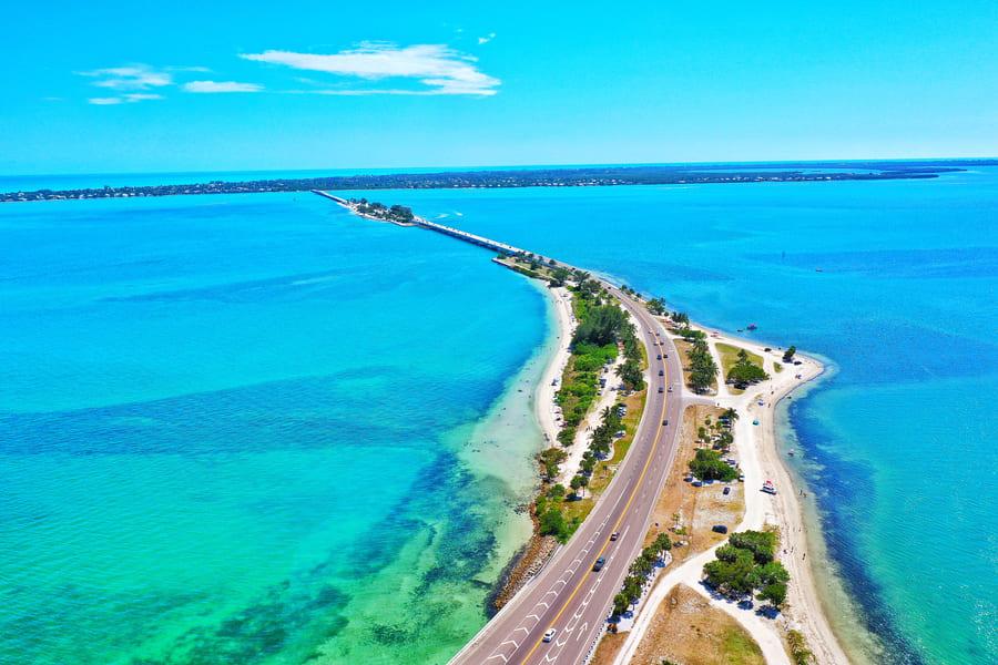 Sanibel Island Straße Florida