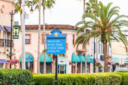 Venice Florida Stadt Zentrum